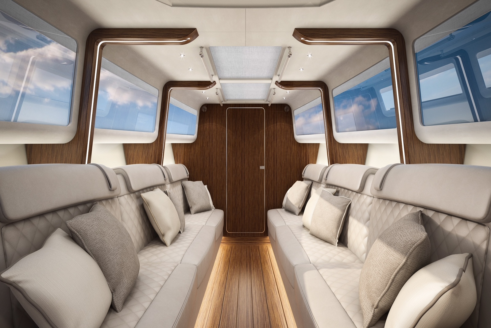 Turbocraft Silverfin Luxury Boat